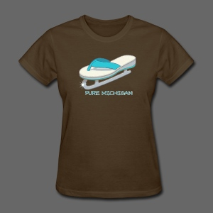 Flip Flop Ice Skate - Women's T-Shirt
