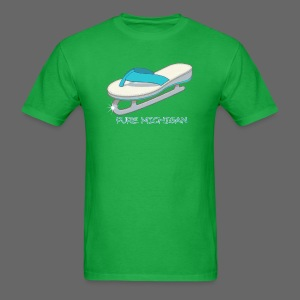 Flip Flop Ice Skate - Men's T-Shirt