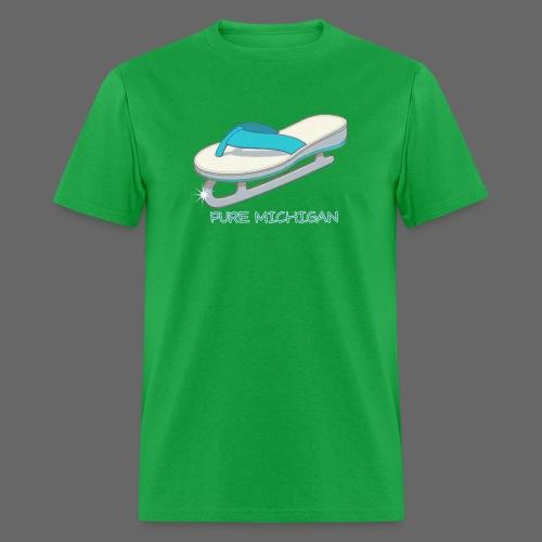 Flip Flop Ice Skate - Men's T-Shirt
