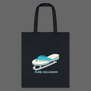 Flip Flop Ice Skate - Tote Bag
