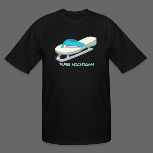 Flip Flop Ice Skate - Men's Tall T-Shirt