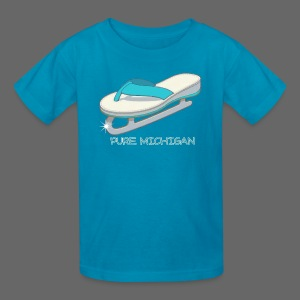 Flip Flop Ice Skate - Kids' T-Shirt