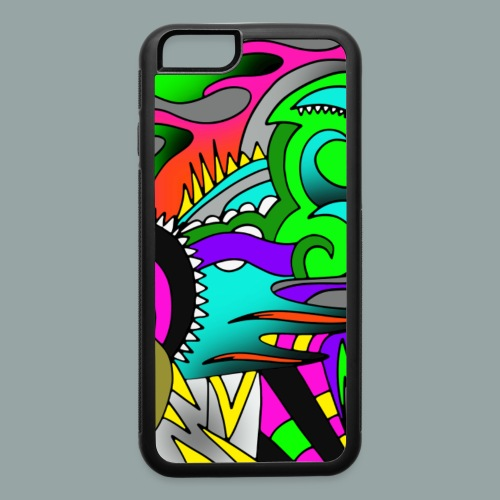 iPhone 6/6s Rubber Case Swirly II - iPhone 6/6s Rubber Case