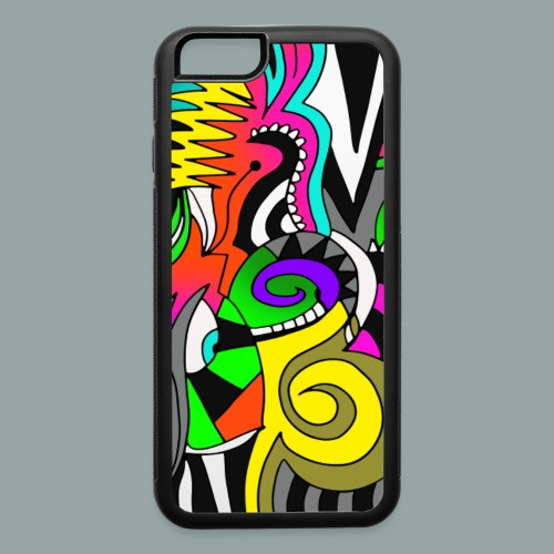 iPhone 6/6s Rubber Case Swirly - iPhone 6/6s Rubber Case