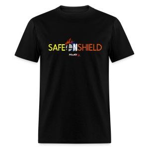 Safe on Shield - Men's T-Shirt