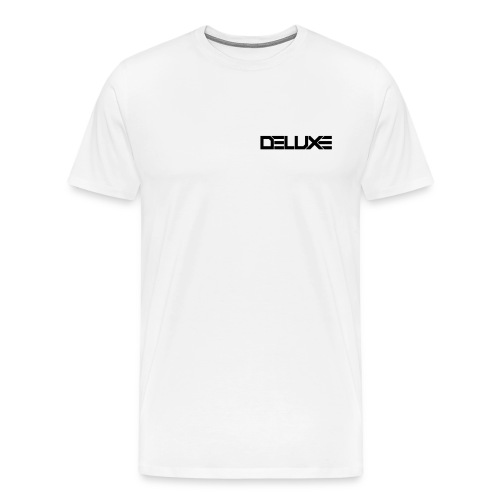 Deluxe Casual Tee (White) - Men's Premium T-Shirt