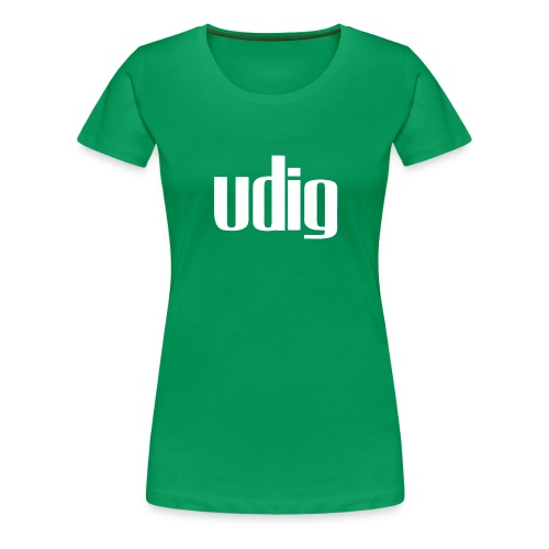Udig Women's Green - Women's Premium T-Shirt