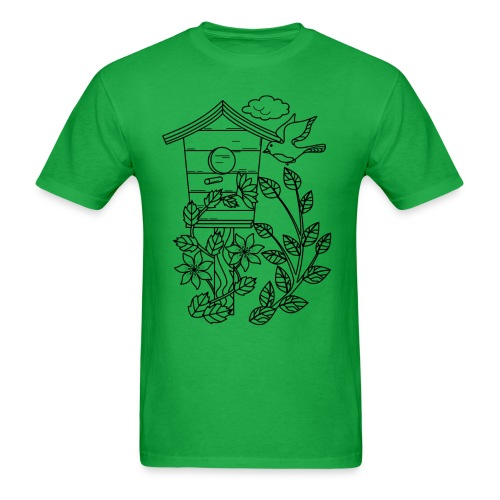 Bird Cage - Men's T-Shirt