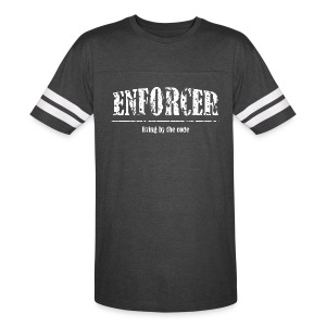 Enforcer- Living by the Code-Vintage Sport - Vintage Sport T-Shirt