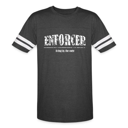 Enforcer- Living by the Code-Vintage Sport - Vintage Sport T-Shirt
