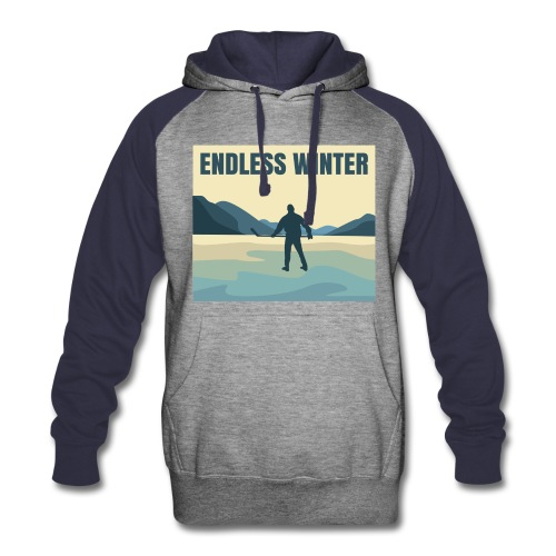Endless Winter- Men's Colorblock Hoodie - Colorblock Hoodie