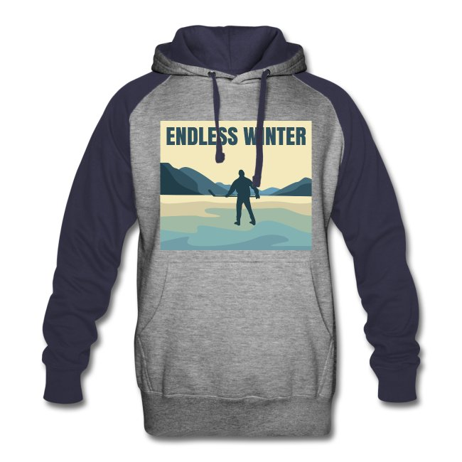 Endless Winter- Men's Colorblock Hoodie