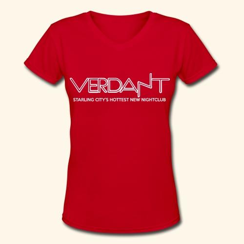 Verdant Women's Shirt - Women's V-Neck T-Shirt