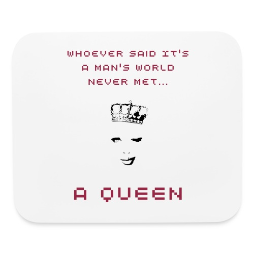 Queen's World Mouse Pad - Mouse pad Horizontal