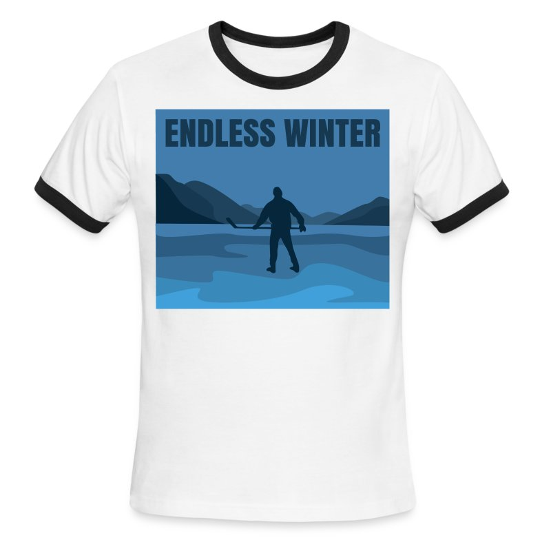 Endless Winter-Men's Ringer Tee - Men's Ringer T-Shirt