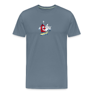 T-Shirts ~ Men's Premium T-Shirt ~ Mens Funny Sailing in Toronto T Shirt