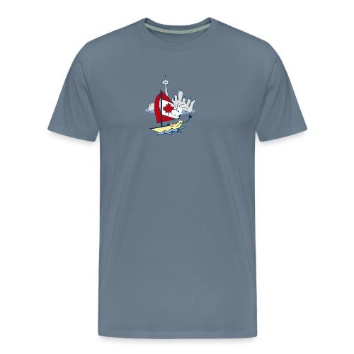 Mens Funny Sailing in Toronto T Shirt - Men's Premium T-Shirt