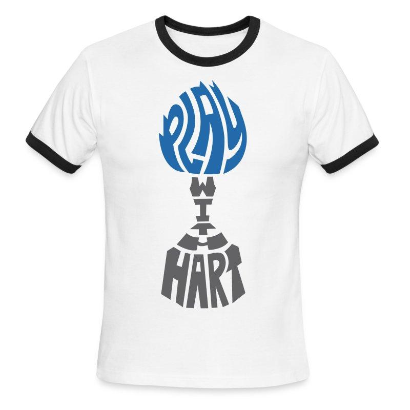 Play with Hart-Men's Ringer Tee - Men's Ringer T-Shirt
