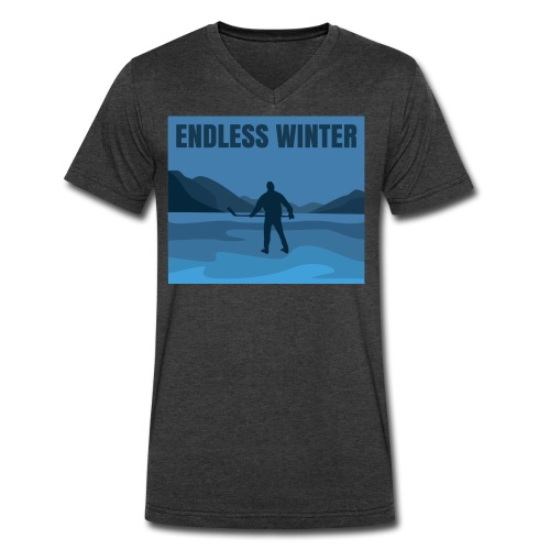 Endless Winter-Men's V-Neck Tee - Men's V-Neck T-Shirt by Canvas