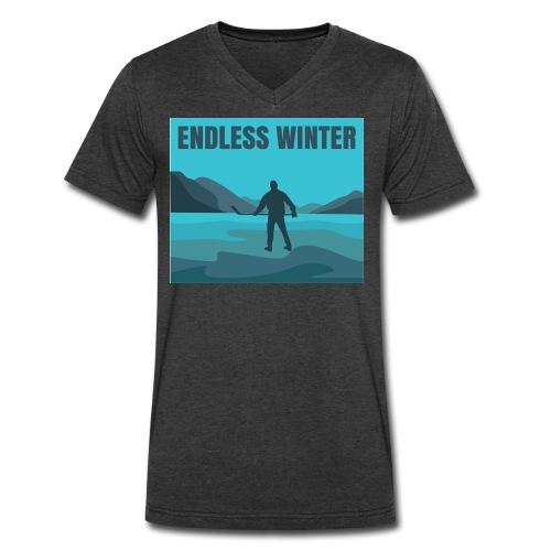 Endless Winter-Men's V-Neck Tee - Men's V-Neck T-Shirt by Canvas