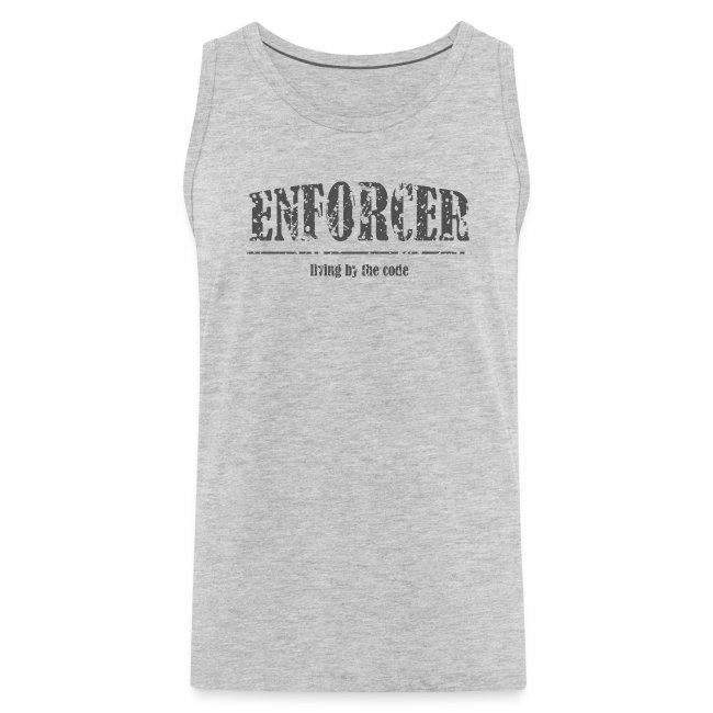 Enforcer-Living by the Code-Men's Tank