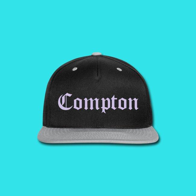 Lavender Compton Two-Tone Black   Grey Baseball Hat c126b61d628