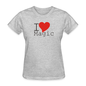 I Love Magic T-Shirt (Women) - Women's T-Shirt