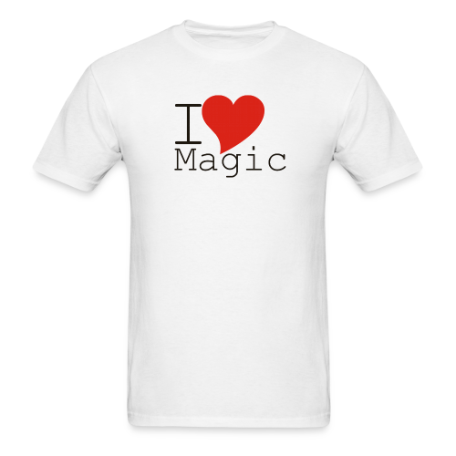 I Love Magic T-Shirt (Men) - Men's T-Shirt