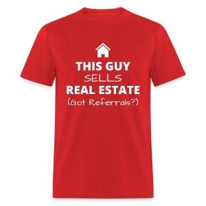 Guy's Referral Tee - Men's T-Shirt