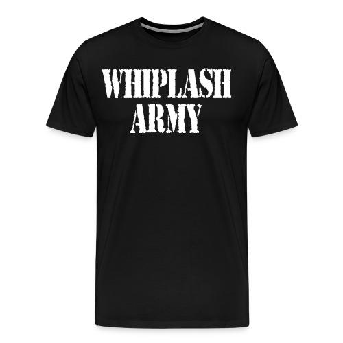 Whiplash Army Men's Tee - Men's Premium T-Shirt