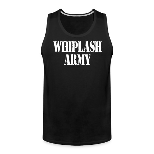 Whiplash Army Men's Tank - Men's Premium Tank