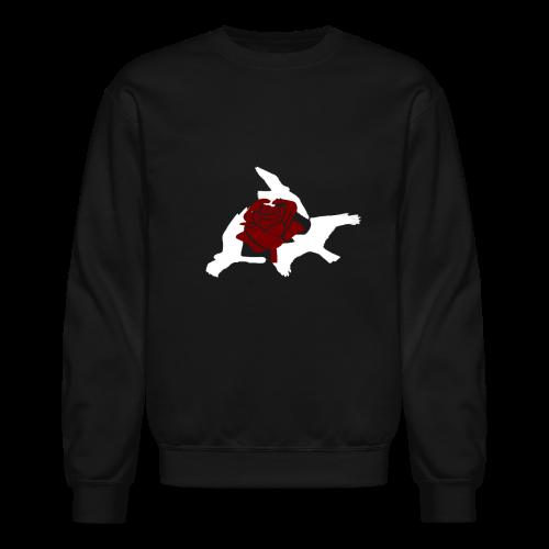 Rose birds sweater (WHITE PRINT) - NEKLEY`s special - Crewneck Sweatshirt