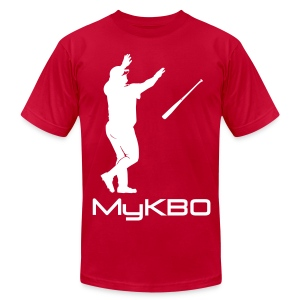 MyKBO Alt Flip  - Men's T-Shirt by American Apparel
