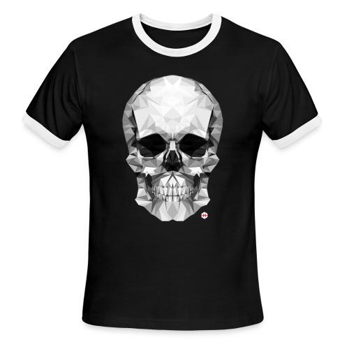 skull 50 by studioHmadrid - Men's Ringer T-Shirt