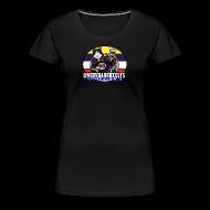 T-Shirts ~ Women's Premium T-Shirt ~ A Very Barrie Colts womens cat t-shirt