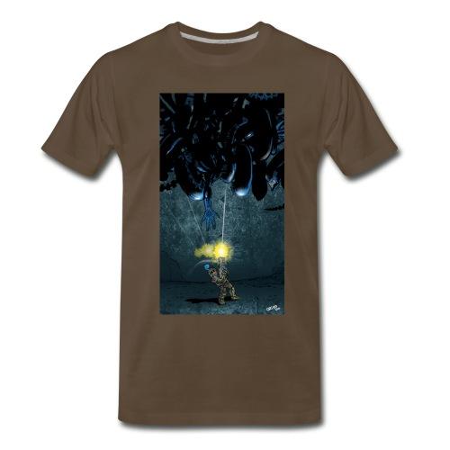 Futprnts Workshop TaTa Showdown T-shirt - Men's Premium T-Shirt