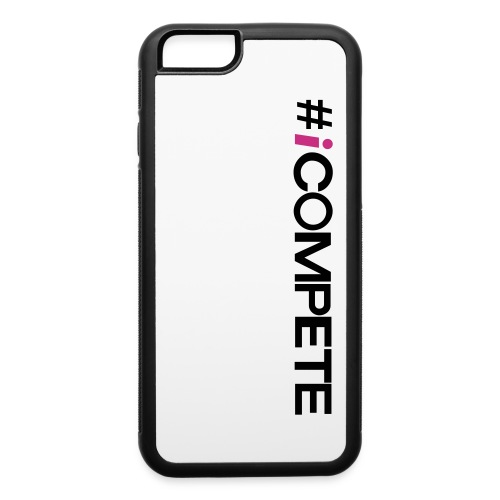 icompete_logo_final_outli - iPhone 6/6s Rubber Case
