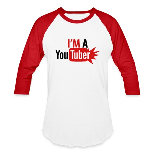 Yo soy YouTuber - Baseball T-Shirt