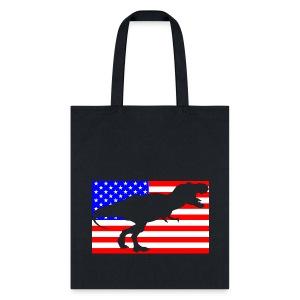 T-rex America - Tote Bag