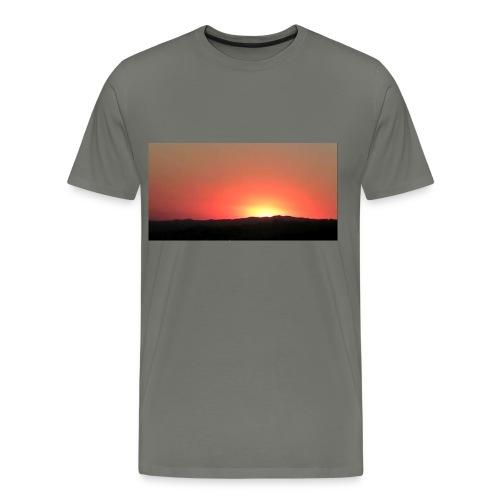 Men's California Sunset Shirt - Men's Premium T-Shirt