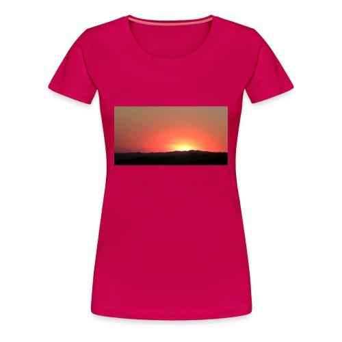 Women's California Sunset Shirt - Women's Premium T-Shirt