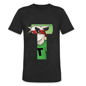 T Logo Avatar Theme - Unisex Tri-Blend T-Shirt by American Apparel
