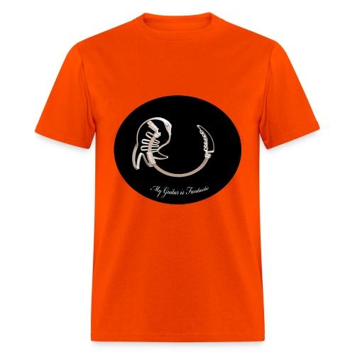 crazy guitar - Men's T-Shirt