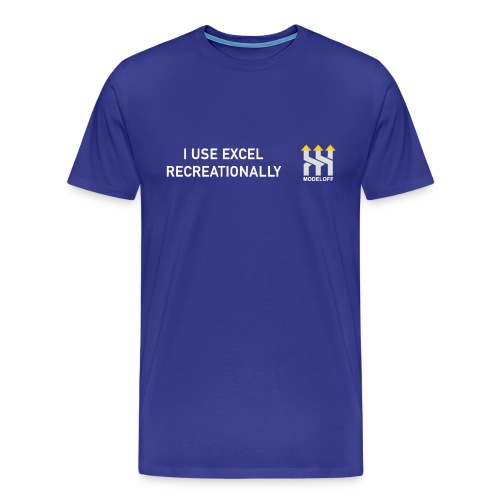 I USE EXCEL RECREATIONALLY - Men's Premium T-Shirt