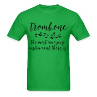 Amazing Trombone - Men's T-Shirt
