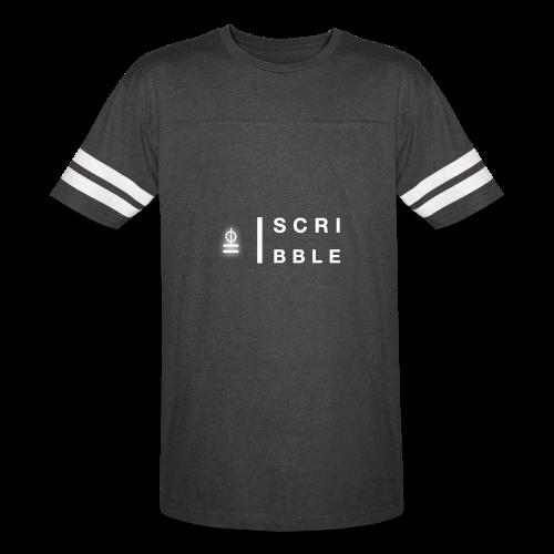 ScirbbleMusic T-Shirt - Vintage Sport T-Shirt