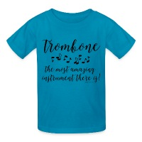 Amazing Trombone - Kids' T-Shirt