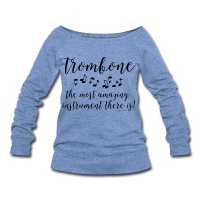 Amazing Trombone - Women's Wideneck Sweatshirt