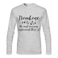 Amazing Trombone - Men's Long Sleeve T-Shirt by Next Level