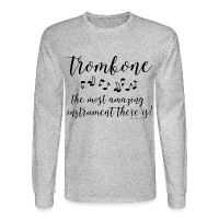 Amazing Trombone - Men's Long Sleeve T-Shirt